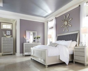 Coralayne Silver Bedroom Set