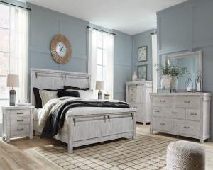 Brashland White Bedroom Set