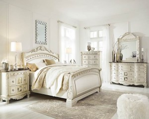 Cassimore Pearl Silver Living Room Group