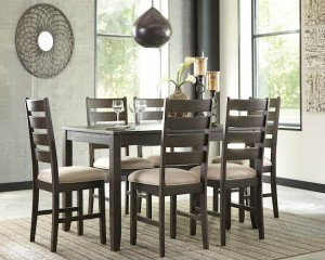Rokane Brown Dining Room Set