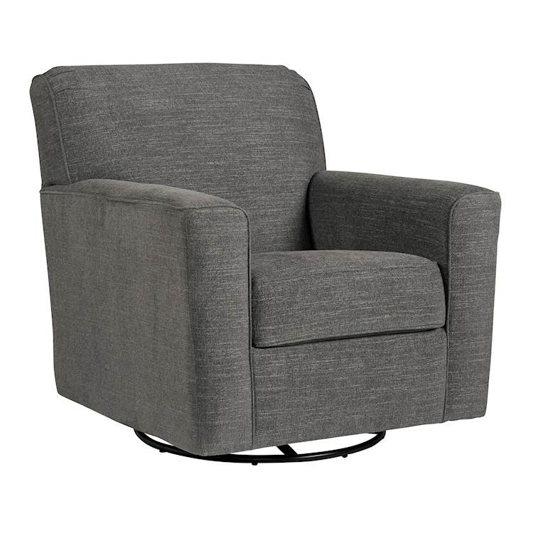 Alcona Linen Swivel Glider Accent Chair Texas: Alcona Linen Swivel Glider Accent Chair