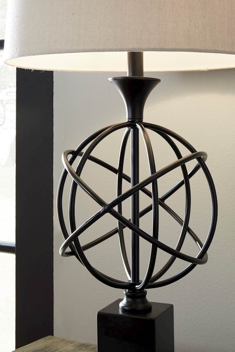 Camren Black Metal Table Lamp (Includes 1 ...