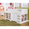 Lulu White Loft Drawer Storage