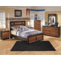 Aimwell Dark Brown Bedroom Set