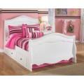 Exquisite White Under Bed Storage
