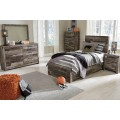 Derekson Multi Gray Twin/Full Under Bed Storage