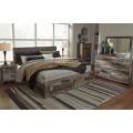 Derekson Multi Gray Queen/King Under Bed Storage