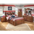 Barchan Medium Brown Bedroom Set