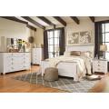 Willowton Whitewash Bedroom Set