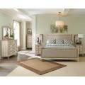 Demarlos Parchment White Bedroom Set