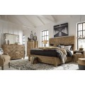Grindleburg Light Brown Bedroom Set