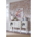Danbeck Chipped White Dining Room Server