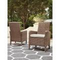 Beachcroft Beige Arm Chair With Cushion (Includes 2)