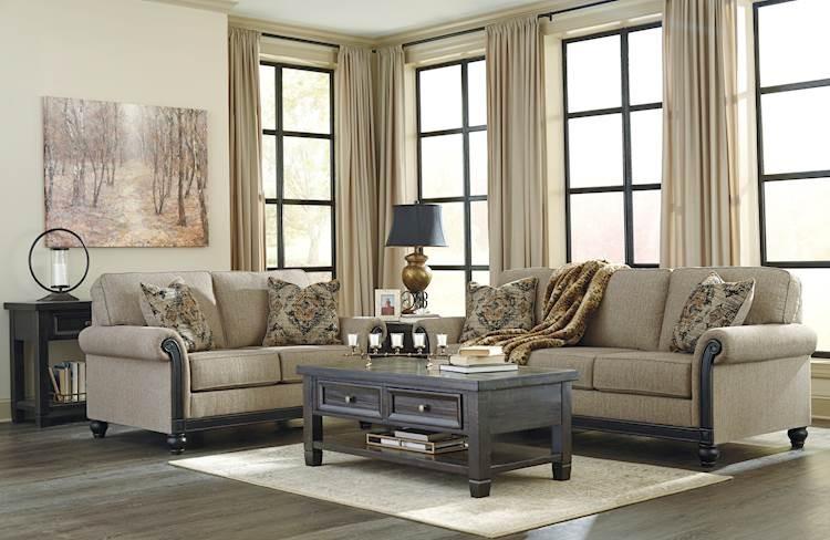 Blackwood Taupe Living Room Group Speedyfurniture Com