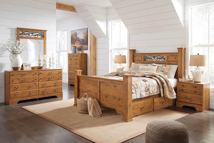 Bittersweet Light Brown Bedroom Set Speedyfurniture Com